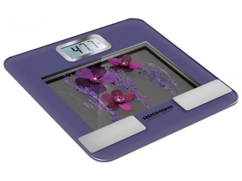 Напольные весы Redmond RS-730, фиолетовые, вид 1