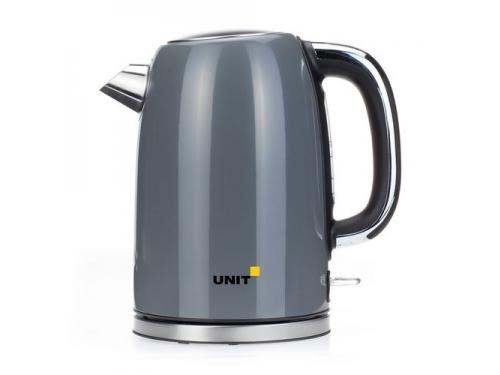 Чайник электрический Unit UEK-264, серый, вид 1