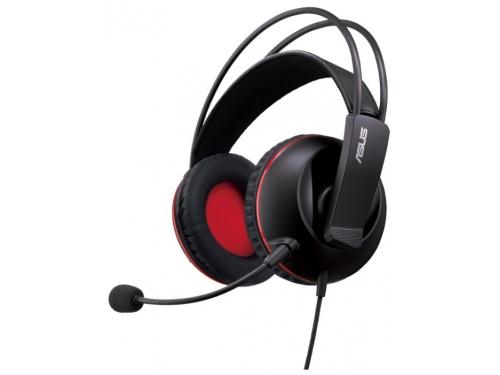 Гарнитура для пк Asus Cerberus черный/красный 1.3м Совместима с PlayStation4, вид 1