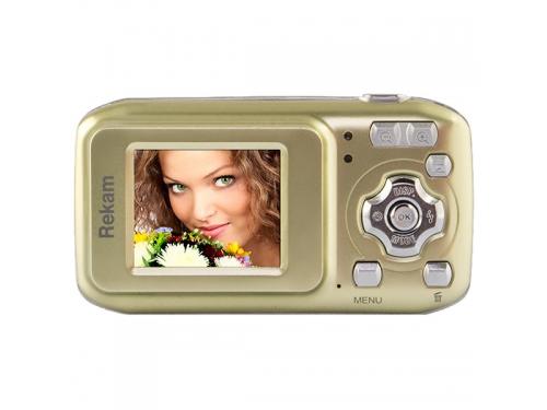 Цифровой фотоаппарат Rekam iLook S755i, бежевый, вид 2