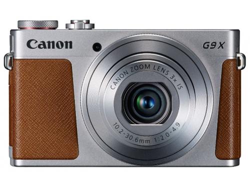 Цифровой фотоаппарат PowerShot G9 X, серебристый, вид 1