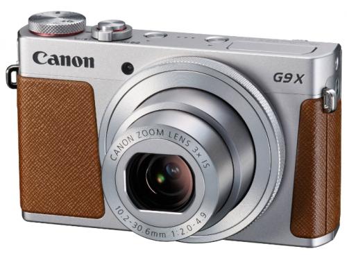 Цифровой фотоаппарат PowerShot G9 X, серебристый, вид 2