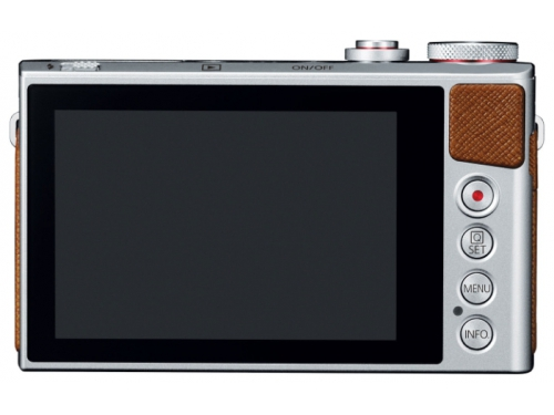 Цифровой фотоаппарат PowerShot G9 X, серебристый, вид 3