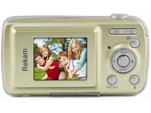 Цифровой фотоаппарат Rekam iLook S750i, золотистый, вид 2