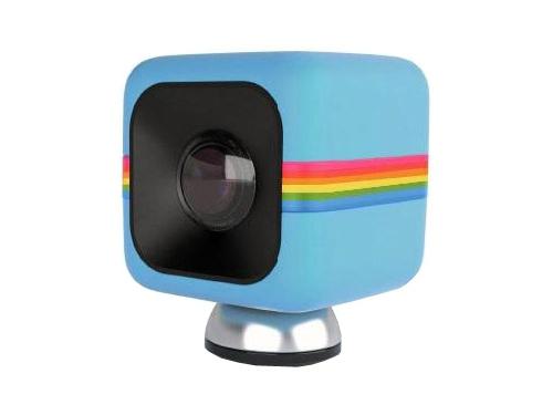 Видеокамера Polaroid Cube, синяя, вид 1