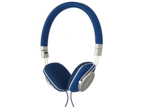 Гарнитура для телефона Bowers & Wilkins P3, серо-голубая, вид 1