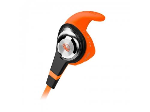 Гарнитура для телефона Monster iSport Strive UCT3, оранжевая, вид 2