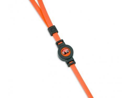 Гарнитура для телефона Monster iSport Strive UCT3, оранжевая, вид 4