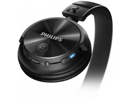 Наушники Philips SHB3080BK/00 Bluetooth черный, вид 2