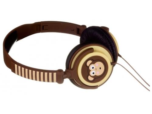 Наушники Kitsound My Doodles Monkey Brown (DDMKYHP), вид 3