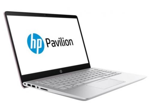 Ноутбук HP Pavilion 14-bf008ur, розовый, вид 3