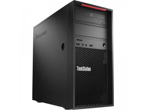 Фирменный компьютер Lenovo ThinkStation TWR P310 (Core i7-6700/8GB/1TB/DVD-RW/250W PSU/KB&M/W10), вид 1