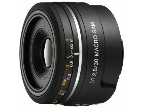 Объектив для фото Sony 30mm f/2.8 DT Macro SAM (SAL-30M28), вид 1