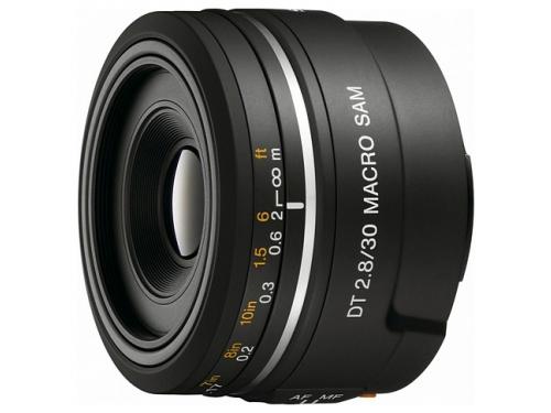 Объектив для фото Sony 30mm f/2.8 DT Macro SAM (SAL-30M28), вид 2