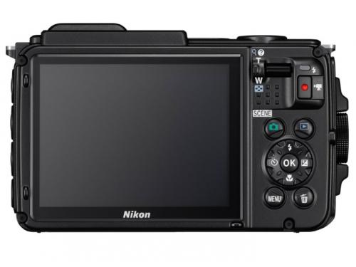Цифровой фотоаппарат Nikon Coolpix AW130, черный, вид 2