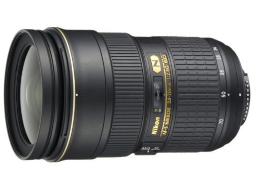 Объектив для фото Nikon 24-70mm f/2.8G ED AF-S Nikkor, вид 1