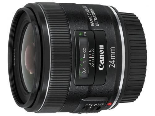Объектив для фото Canon EF 24mm f/2.8 IS USM, вид 1
