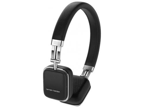 Гарнитура bluetooth Bluetooth Harman/Kardon Soho BT  (HKSOHOBTBLK), чёрная, вид 1