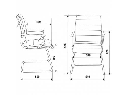 Компьютерное кресло Бюрократ CH-994AV слоновая кость, вид 2