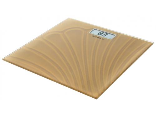 Напольные весы Supra BSS 2065, бежевые, вид 1