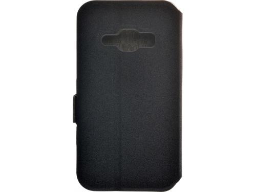 Чехол для смартфона Prime book для Samsung Galaxy J1 (2016) чёрный, вид 2