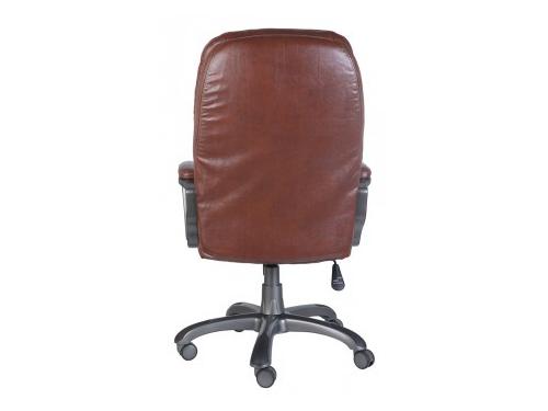 Компьютерное кресло Бюрократ CH-868AXSN/Brown искусственная кожа (пластик темно-серый), вид 3