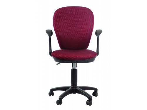 Компьютерное кресло Бюрократ CH-513AXN/JP-15-6, бордовый, вид 1