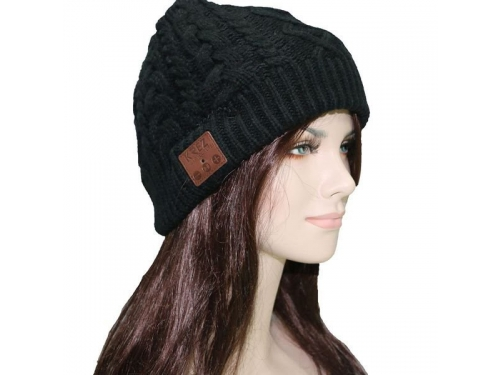 Наушники KREZ AB01 шапка черная, вид 1