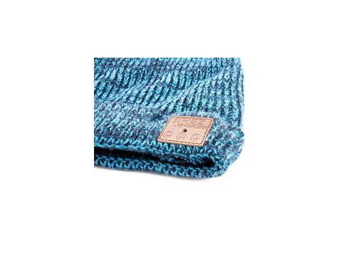 Наушники KREZ AB02 шапка синяя, вид 2