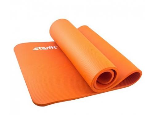 Коврик для йоги Starfit FM-301 (183x58x1,5 см), оранжевый, вид 1