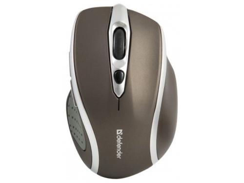 Мышь Defender Safari MM-675 Nano (USB) Stone, вид 1
