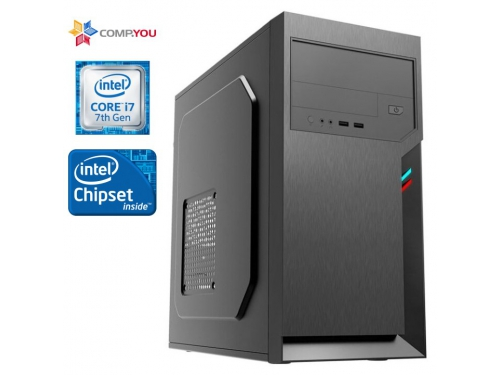 Системный блок CompYou Office PC W170 (CY.610522.W170), вид 1