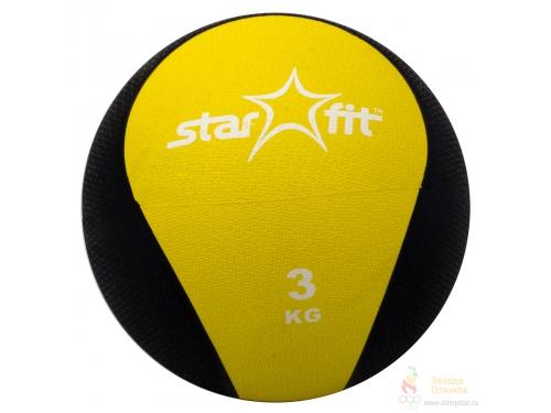 Мяч Starfit Pro GB-702, (3 кг) желтый, вид 1
