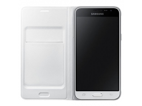 Чехол для смартфона Samsung для Samsung Galaxy J3 Flip Wallet белый, вид 2