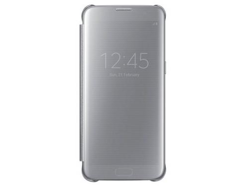 Чехол для смартфона Samsung для Samsung Galaxy S7 edge Clear View Cover silver, вид 1