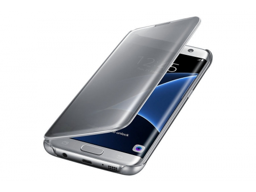 Чехол для смартфона Samsung для Samsung Galaxy S7 edge Clear View Cover silver, вид 4