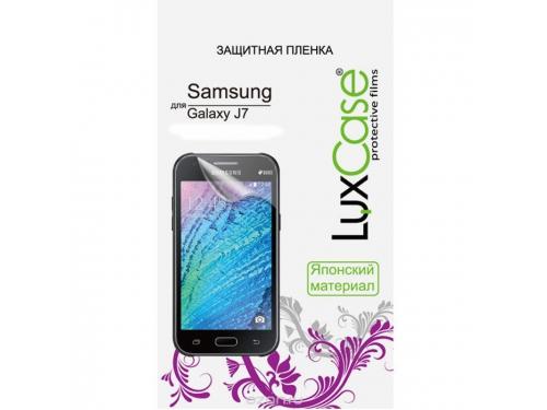 Защитная пленка для смартфона LuxCase  для Samsung Galaxy J7 (2016) SM-J710 суперпрозрачная, вид 1
