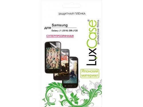 Защитная пленка для смартфона LuxCase  для Samsung Galaxy J1 (2016) SM-J120 (52552) суперпрозрачная, вид 1