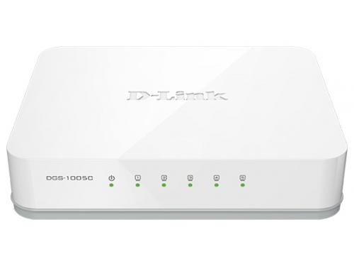 Коммутатор (switch) D-Link DGS-1005C/A1A, вид 1