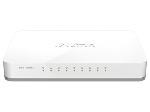 Коммутатор (switch) D-Link DGS-1008C/A1A, вид 1