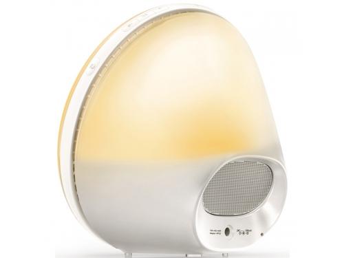 Часы интерьерные Philips Wake-Up Light HF3520/70, радиобудильник, со звуками природы и световой имитацией рассвета и заката, вид 5