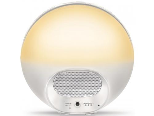 Часы интерьерные Philips Wake-Up Light HF3520/70, радиобудильник, со звуками природы и световой имитацией рассвета и заката, вид 6