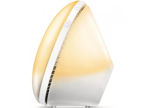 Радиоприемник Радио-будильник Philips Wake-Up Light HF3510/70, со звуками природы и световой имитацией рассвета и заката, вид 4