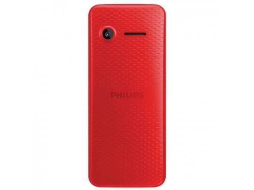 Сотовый телефон Philips E103, красный, вид 2