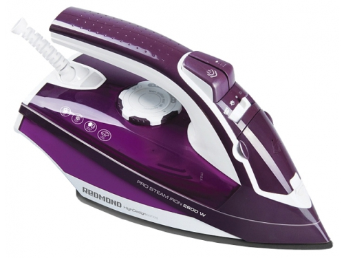 Утюг Redmond RI-C224, фиолетовый, вид 1