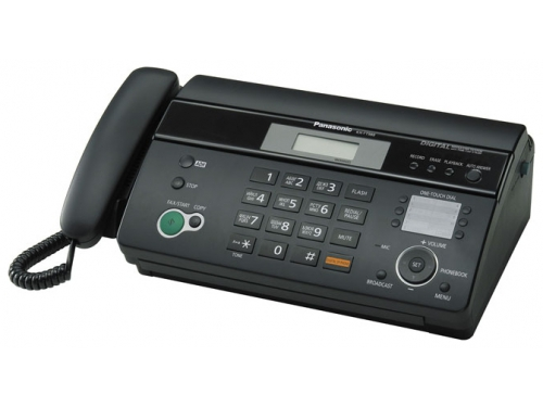 Факс Panasonic KX-FT988RU-B, вид 1