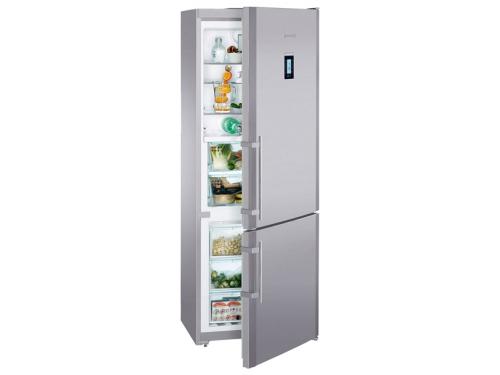 Холодильник Liebherr CBNPes 5156 серебристый, вид 1