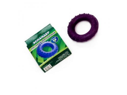 Эспандер кистевой массажный (20 кг) 1/25, фиолетовый, вид 1