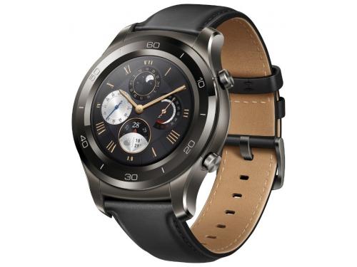 Умные часы Huawei Watch 2 Classic (LEO-BX9) Titanium Grey, вид 1