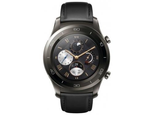 Умные часы Huawei Watch 2 Classic (LEO-BX9) Titanium Grey, вид 2